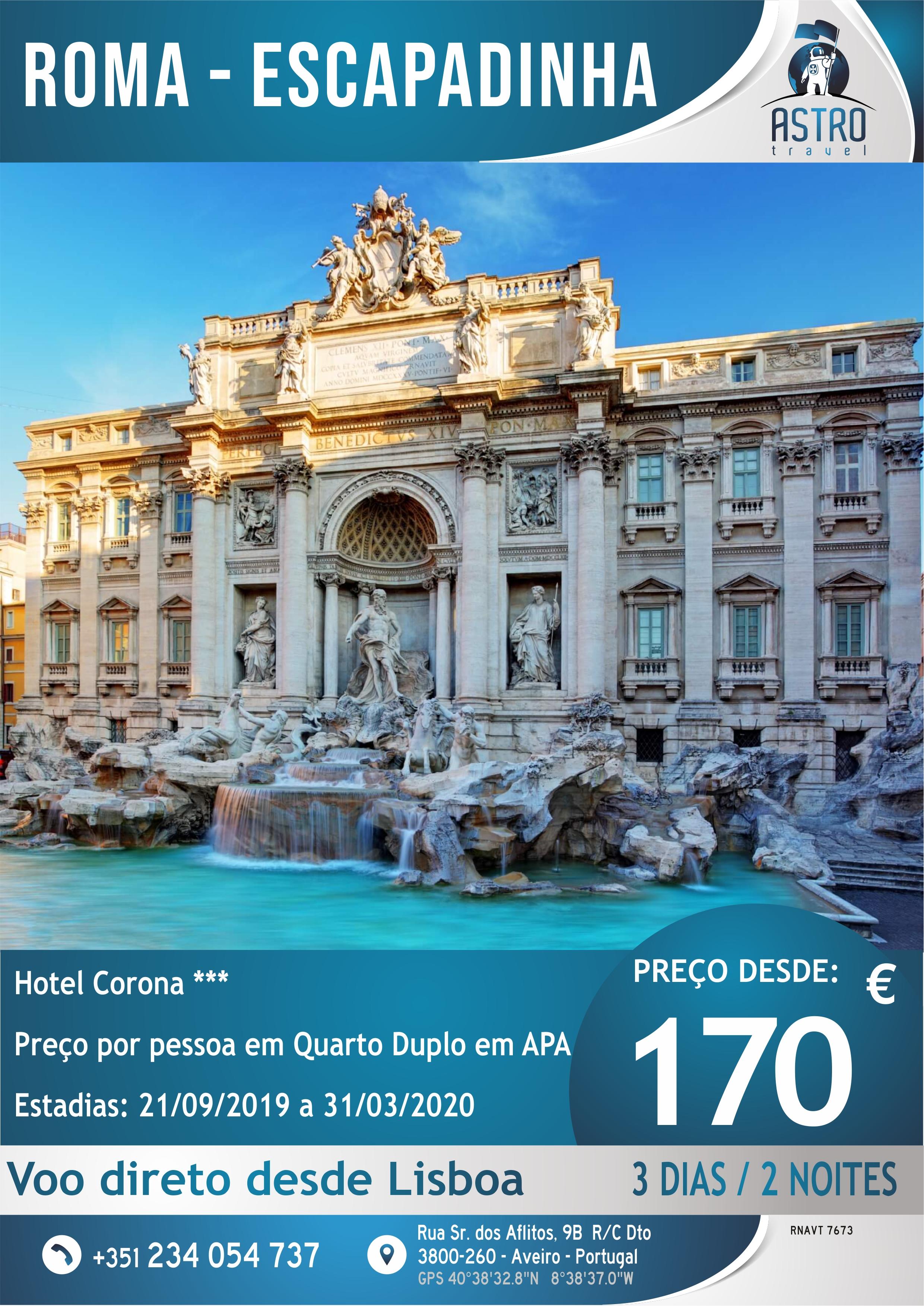 Roma escapadinha
