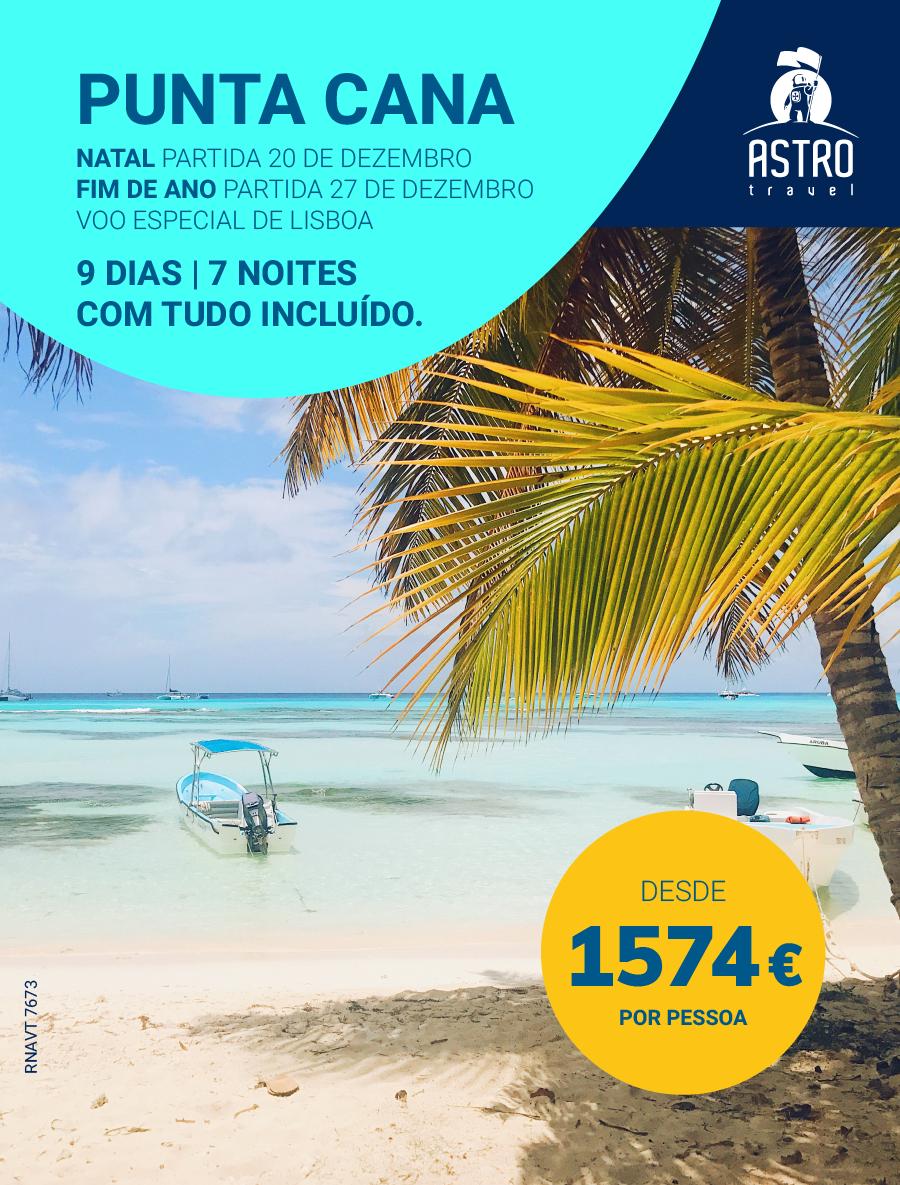 Natal ou Fim de Ano em Punta Cana