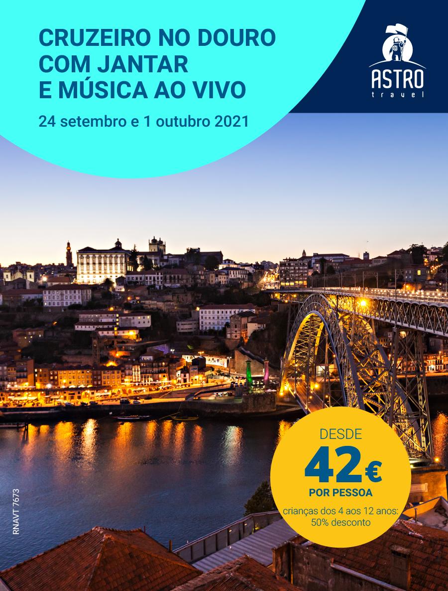 Cruzeiro pelo Douro com jantar e música ao vivo 5